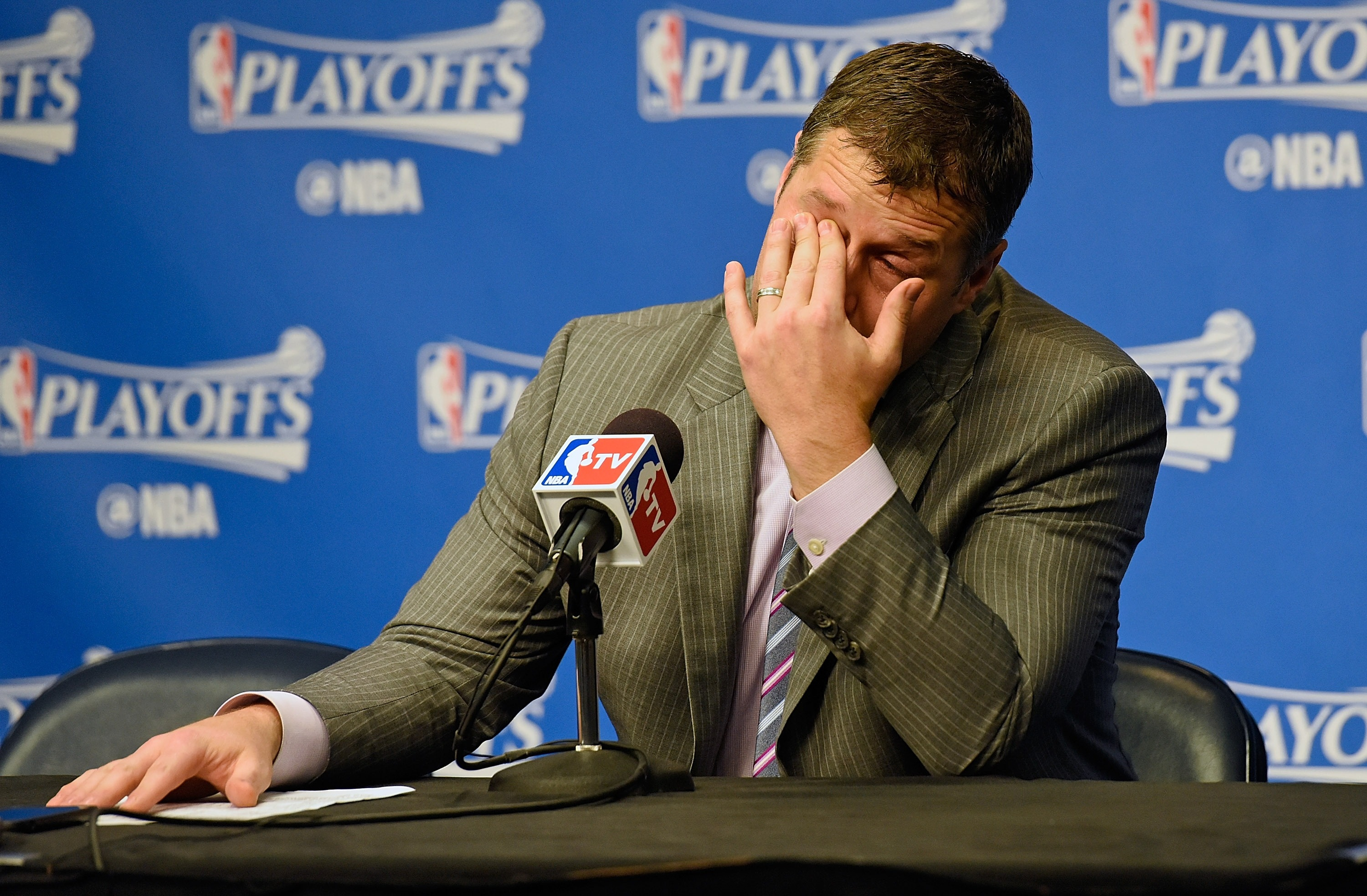 The Grizzlies' refusal to quit brought their head coach to tear…