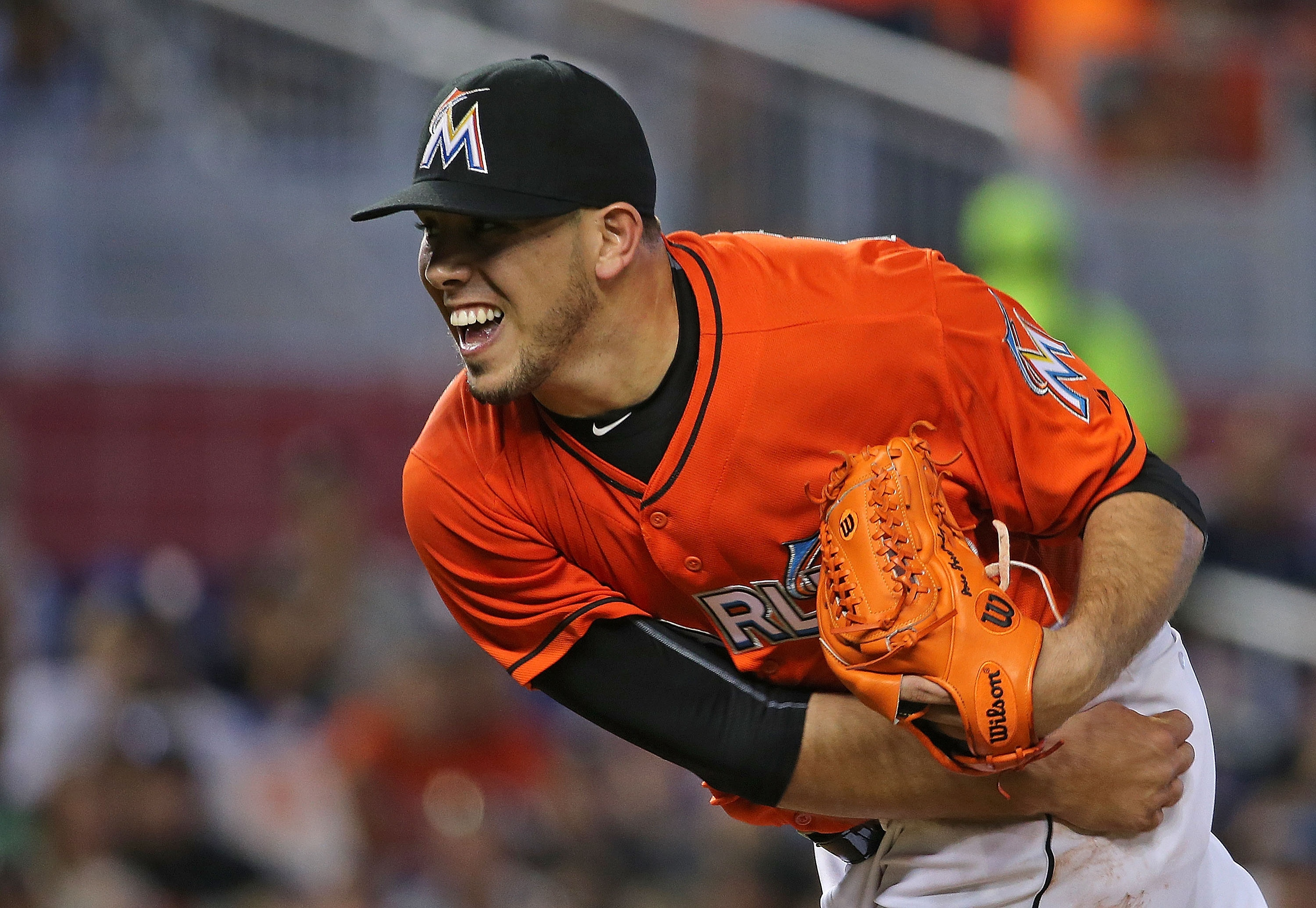 Something to smile about: the return of Jose Fernandez. (Getty)