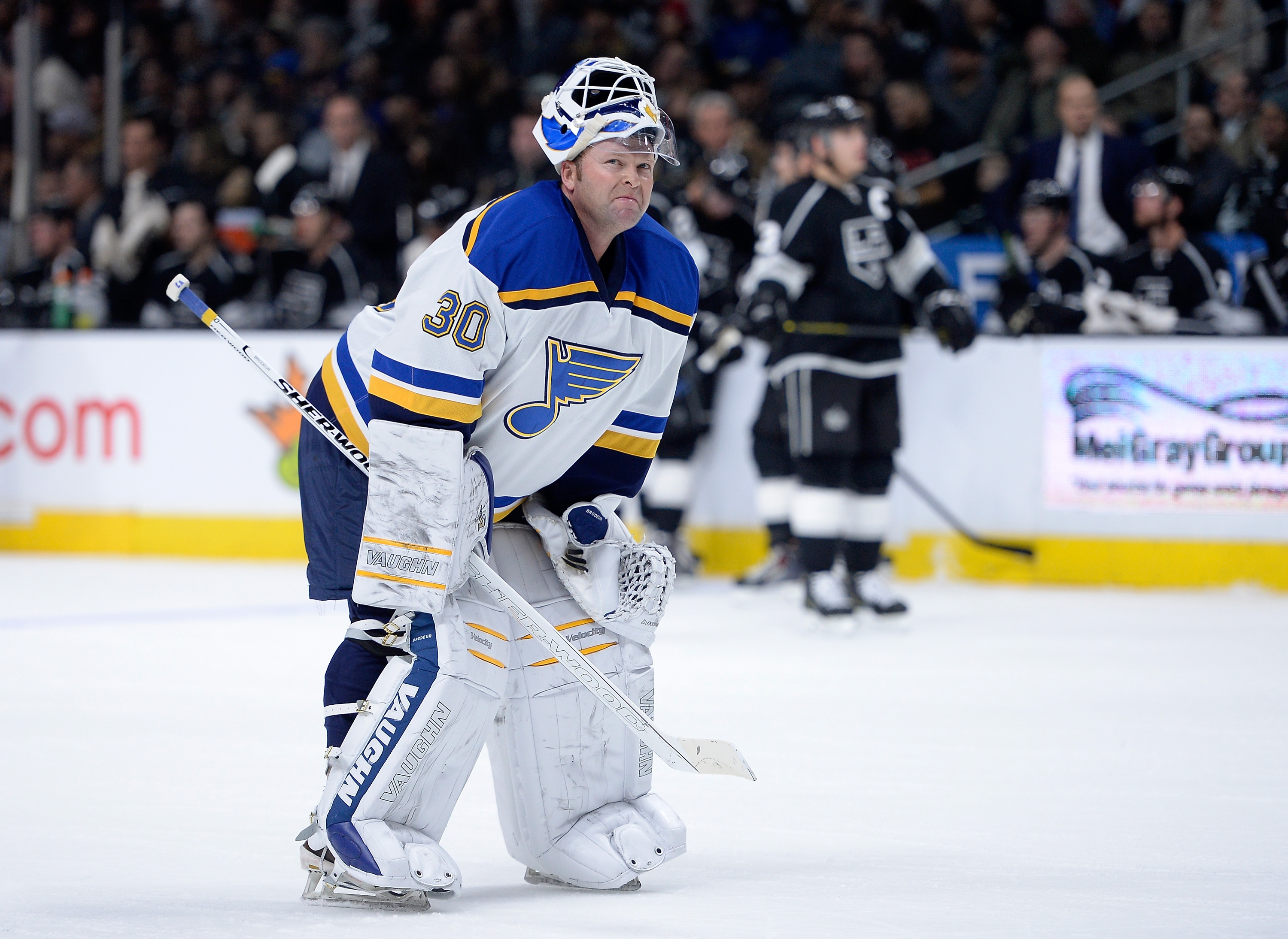 Martin Brodeur had a comedic nightmare in Los Angeles (Video)
