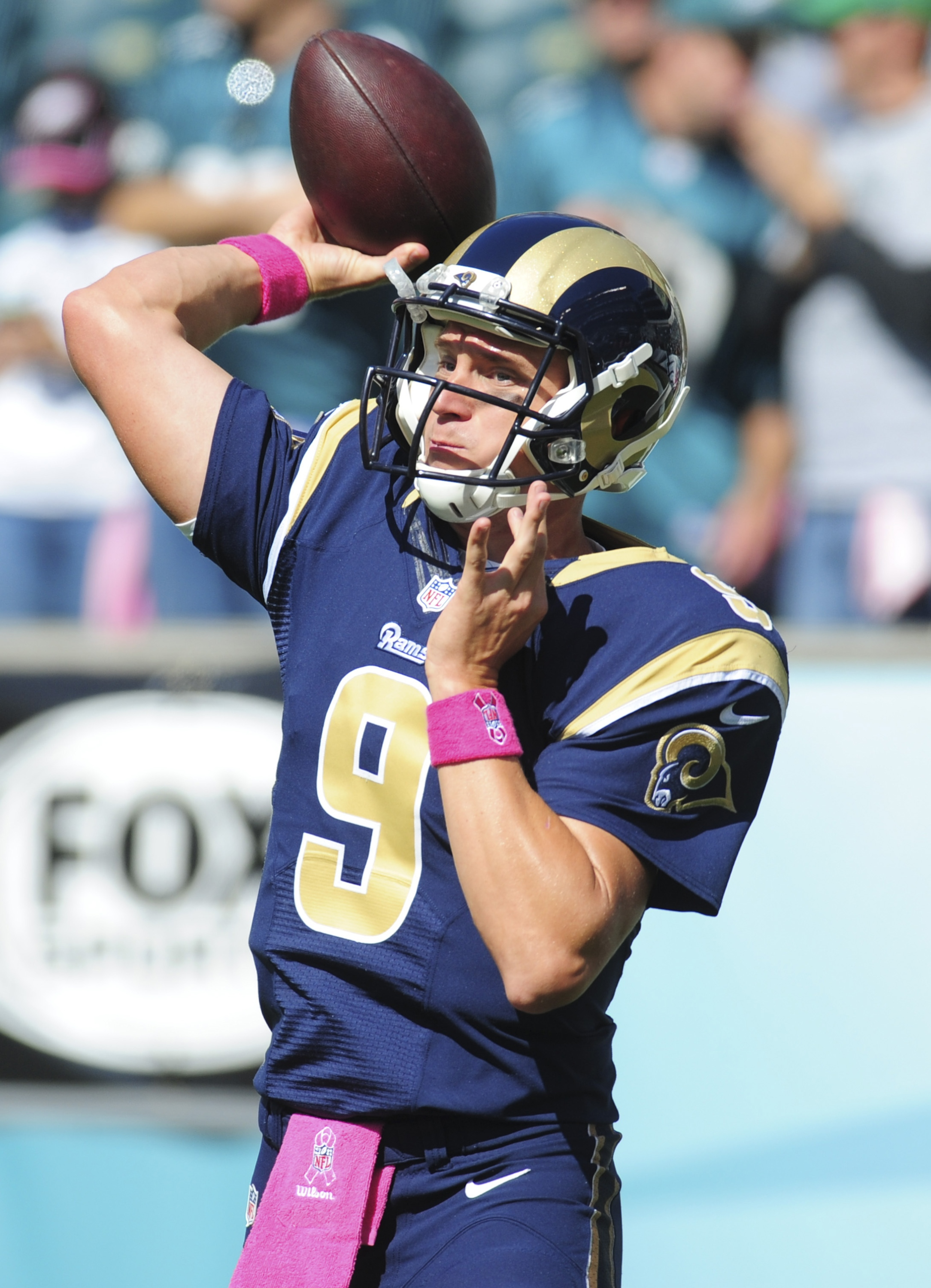 Austin Davis, the latest QB to shred the Eagles D (Evan Habeeb/Getty Images)