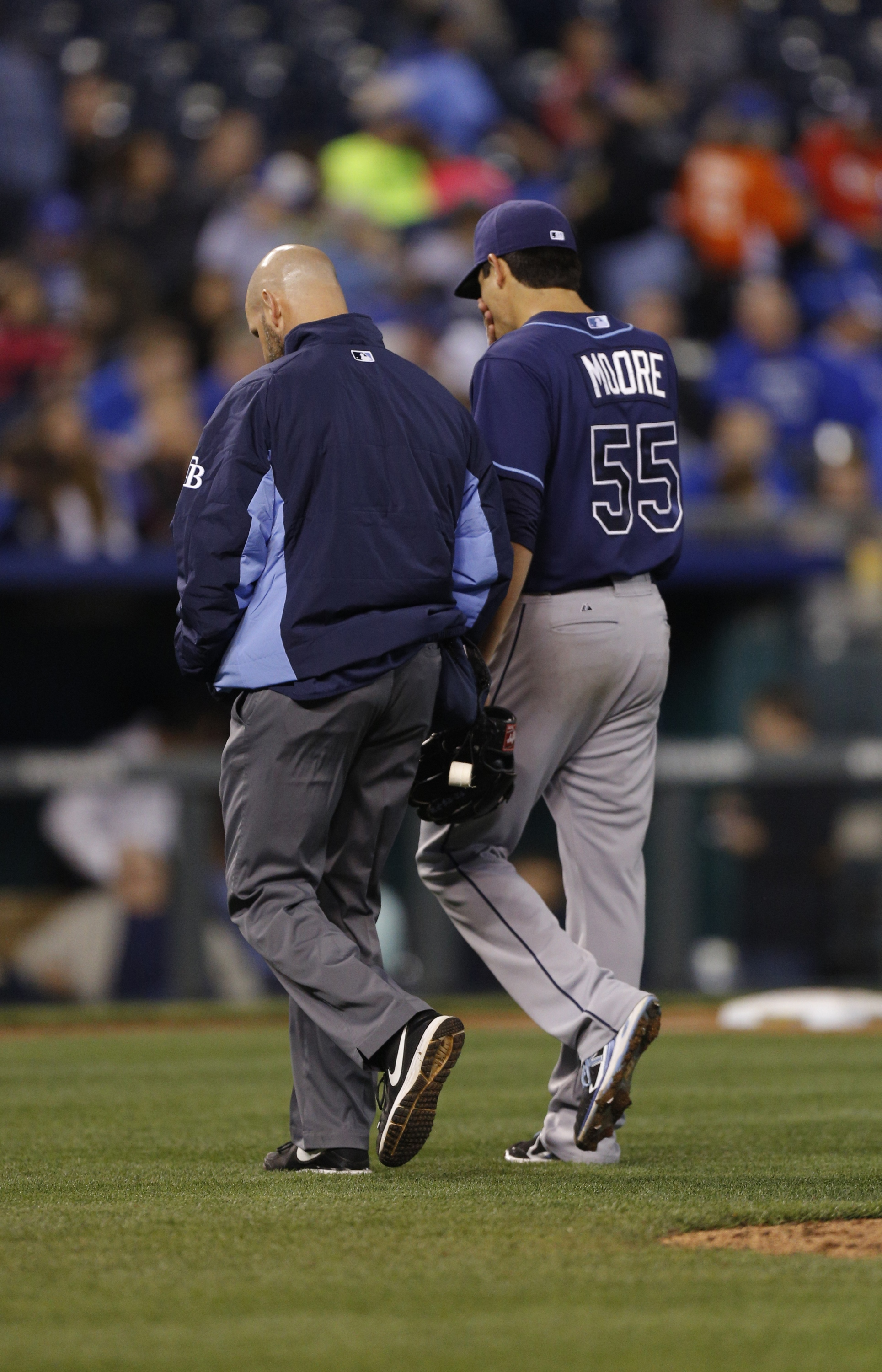 Matt Moore of the Rays elects to have Tommy John surgery, will …