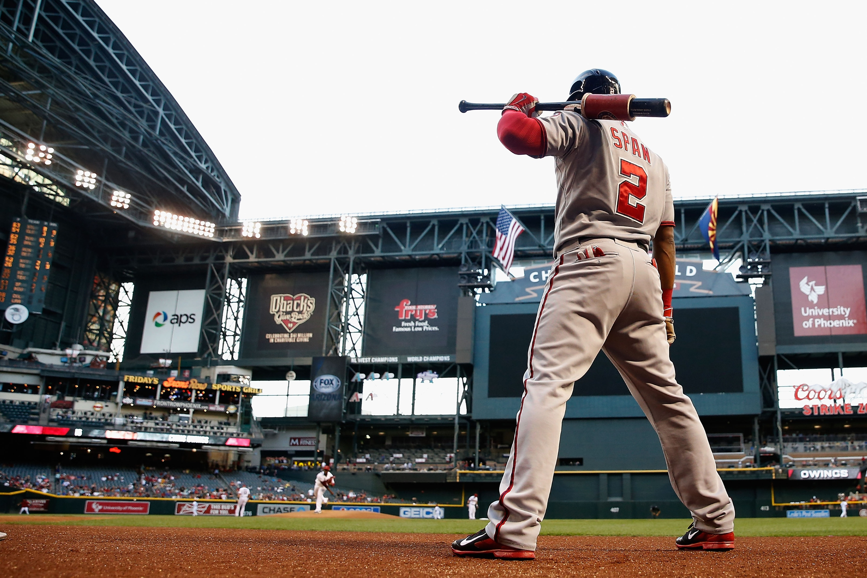 Denard Span gets a nice matchup at a nice price (Photo by Christian Petersen/Getty Images)