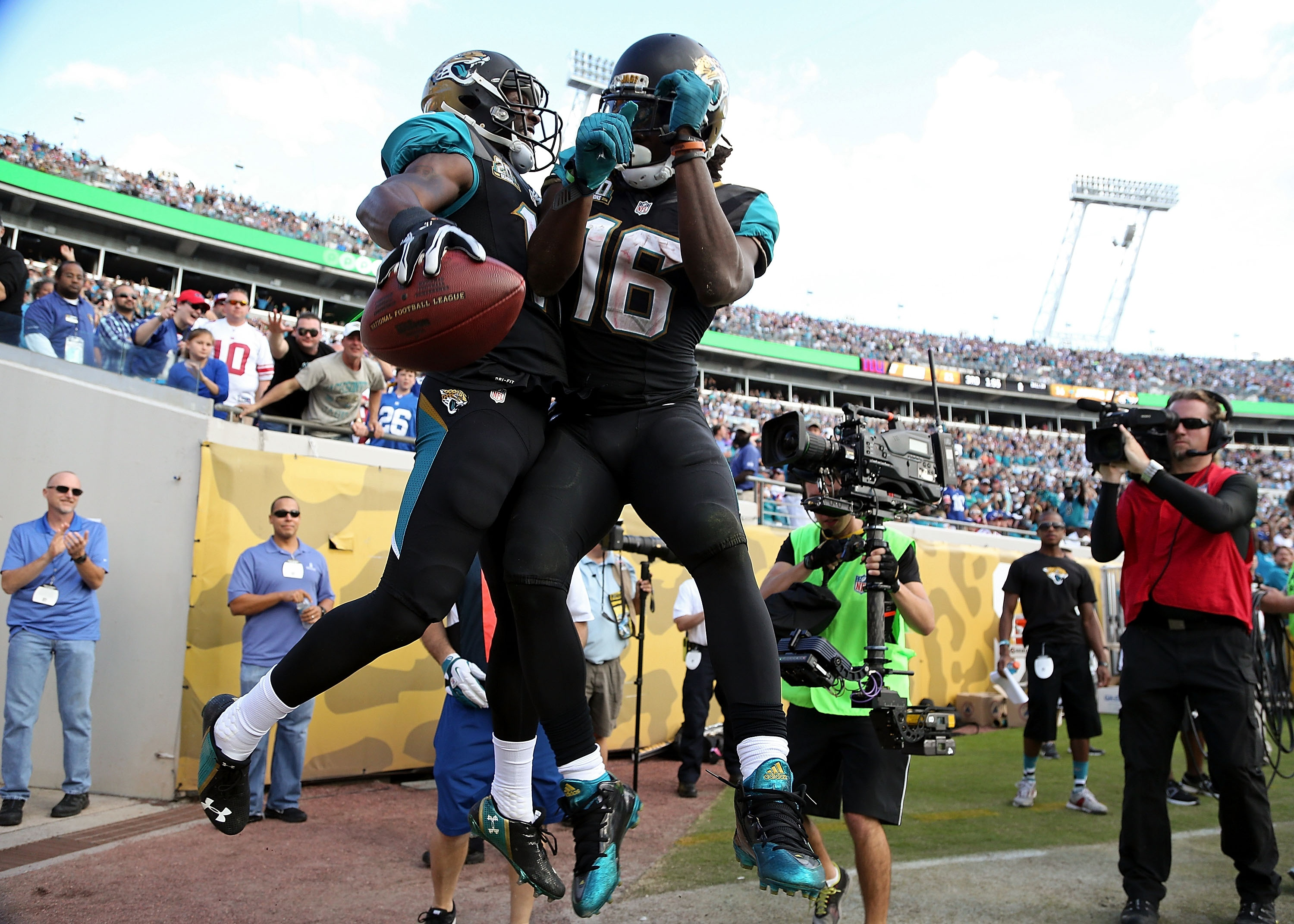 Denard Robinson, in better fantasy times. (Photo by Rob Foldy/Getty Images)