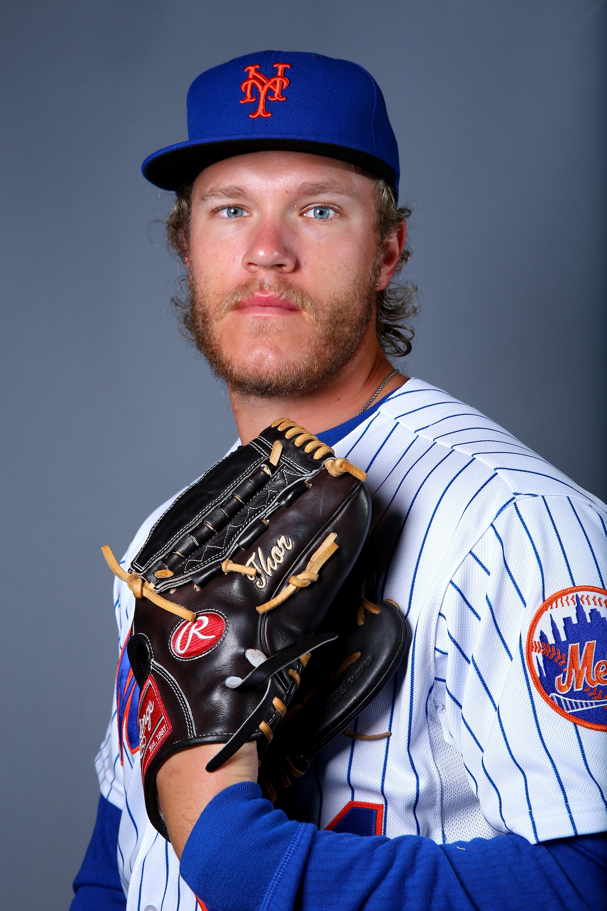 Noah Syndergaard should pick better times to eat lunch. (Getty Images)