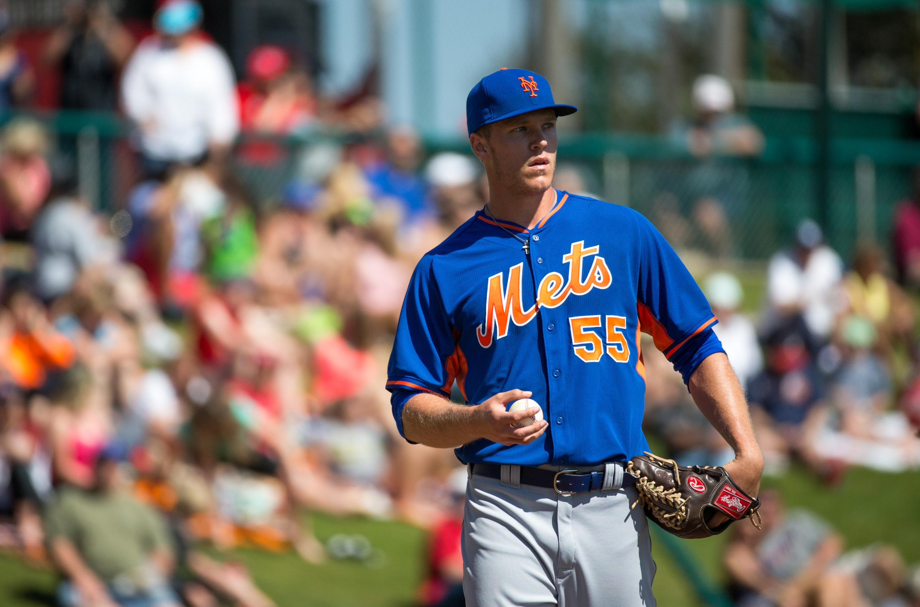 Welcome to the show, Noah Syndergaard (Photo by Rob Foldy/Getty Images)
