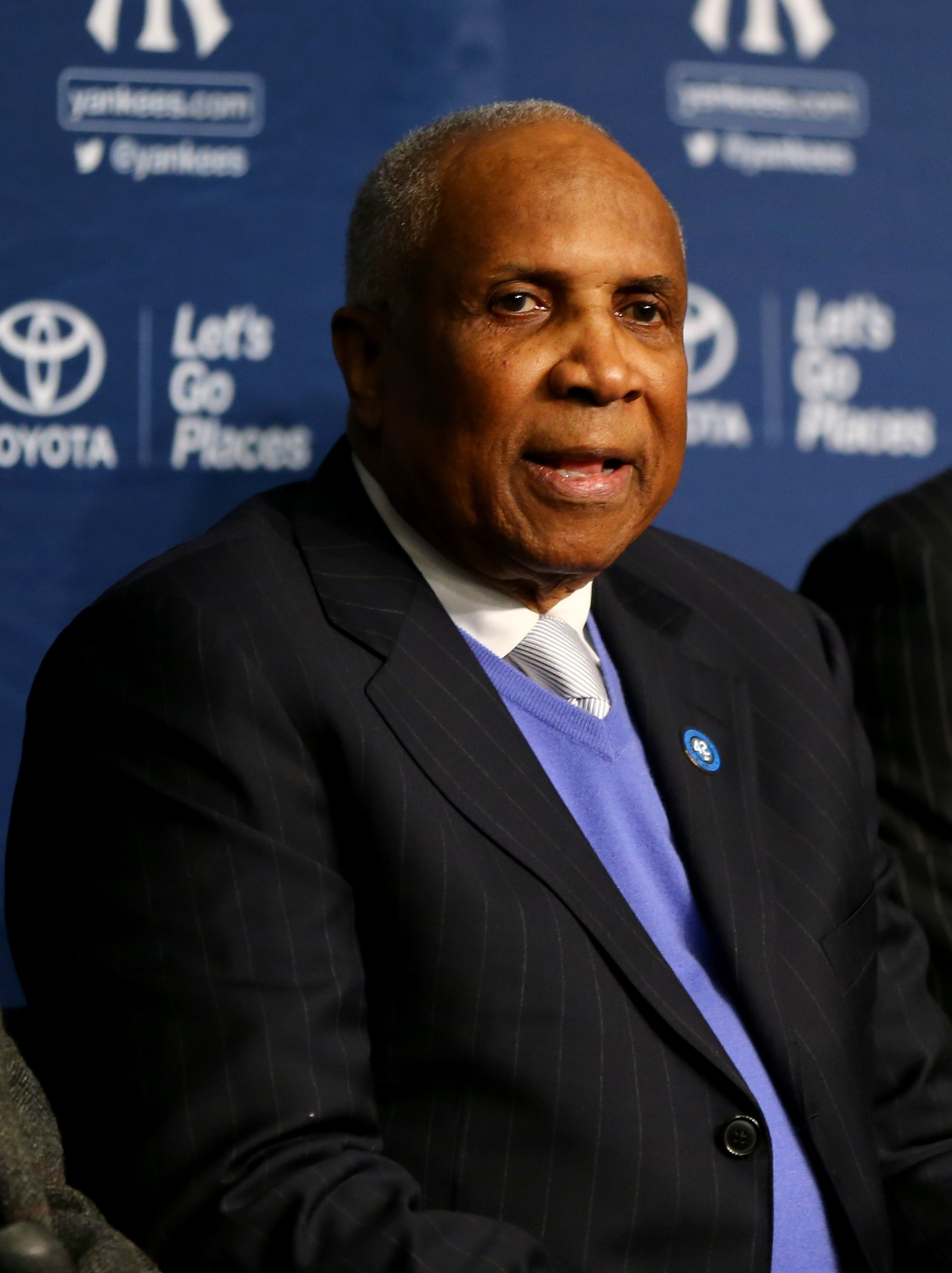 Hall of Famer Frank Robinson is a defendant in Sylvia Lind's lawsuit. (Getty Images)