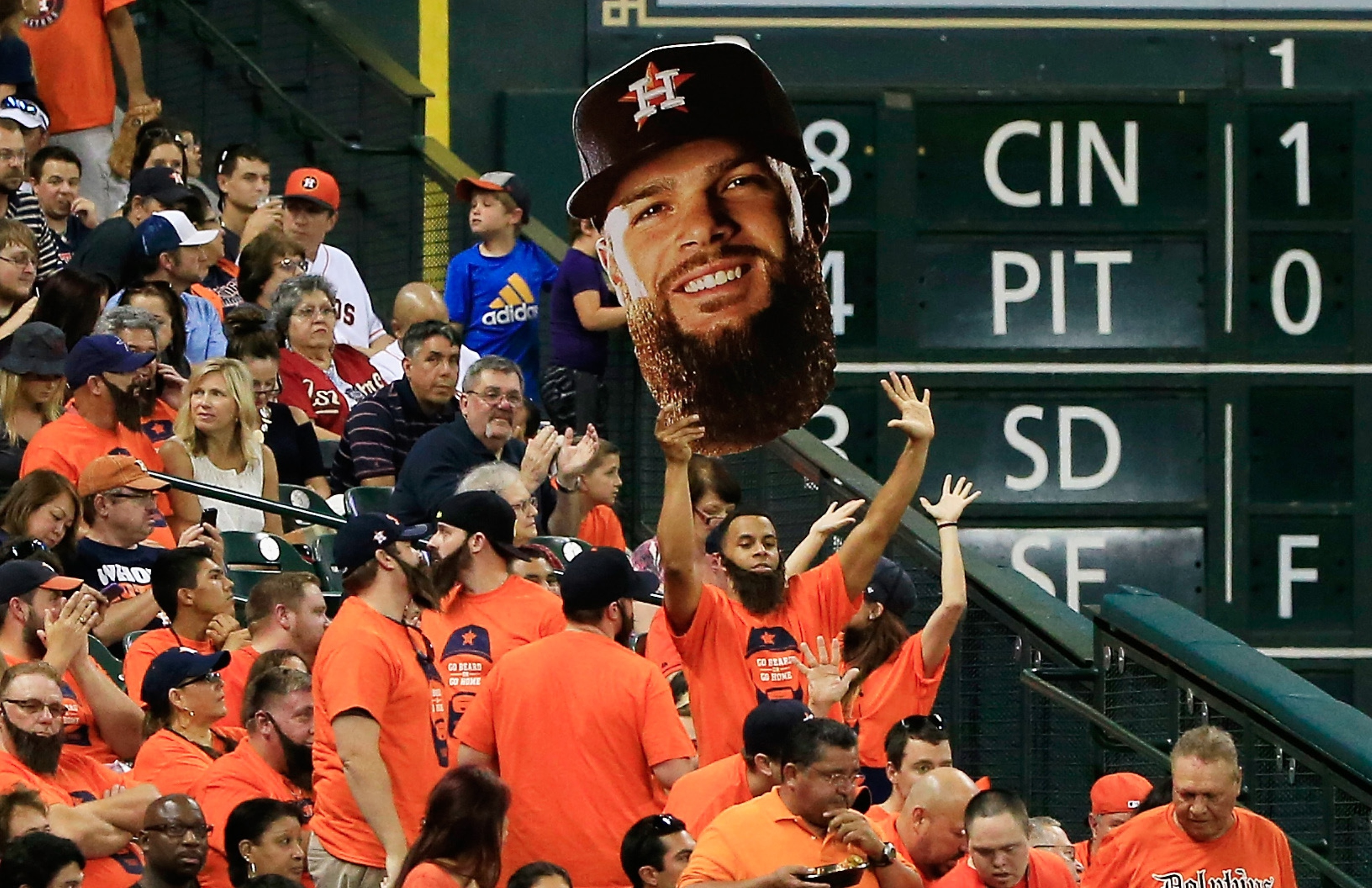 Mound mastermind Dallas Keuchel has added Ks to his bag of tricks. (Getty)