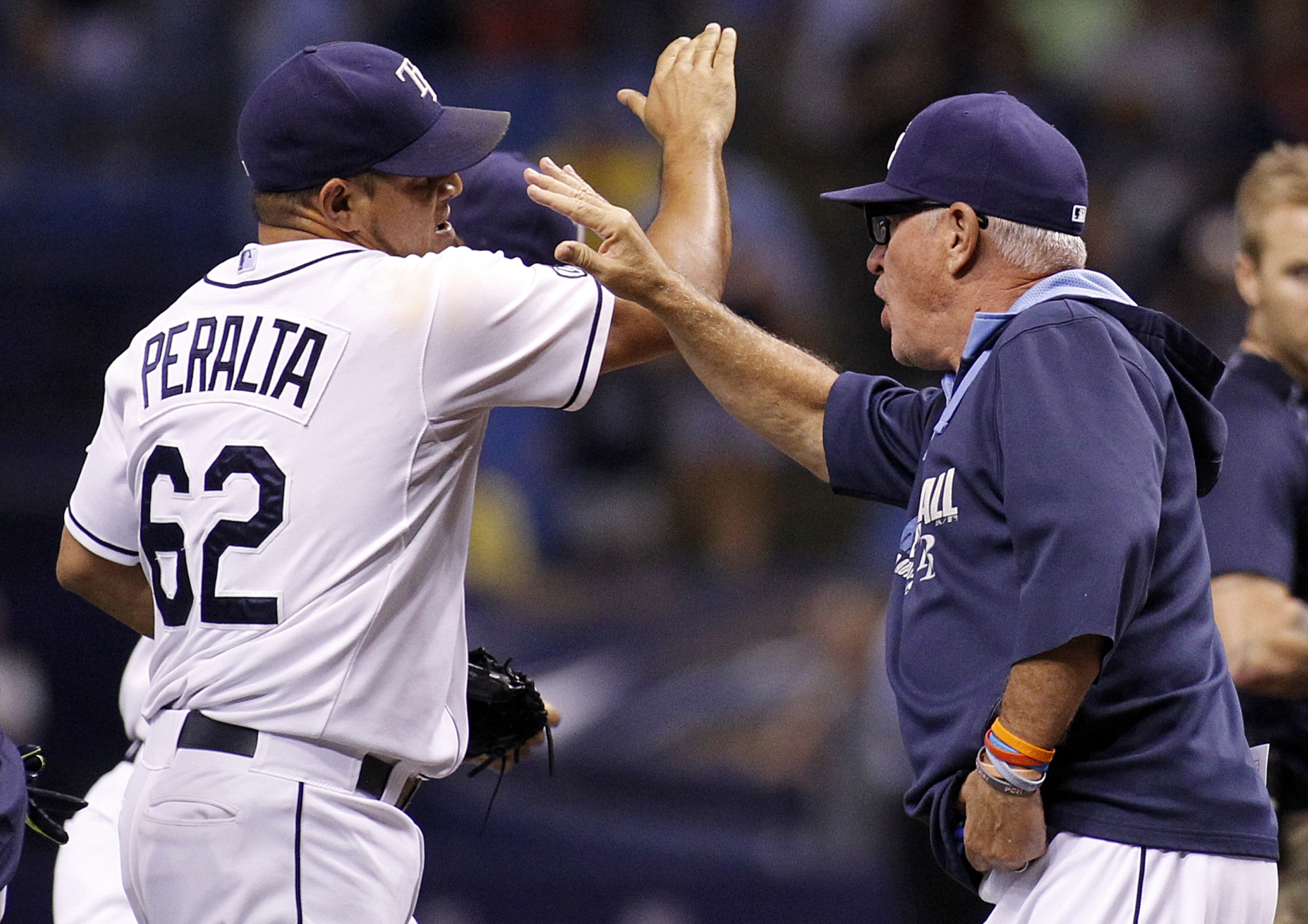 Rays climb back to .500 after being 18 games under on June 10