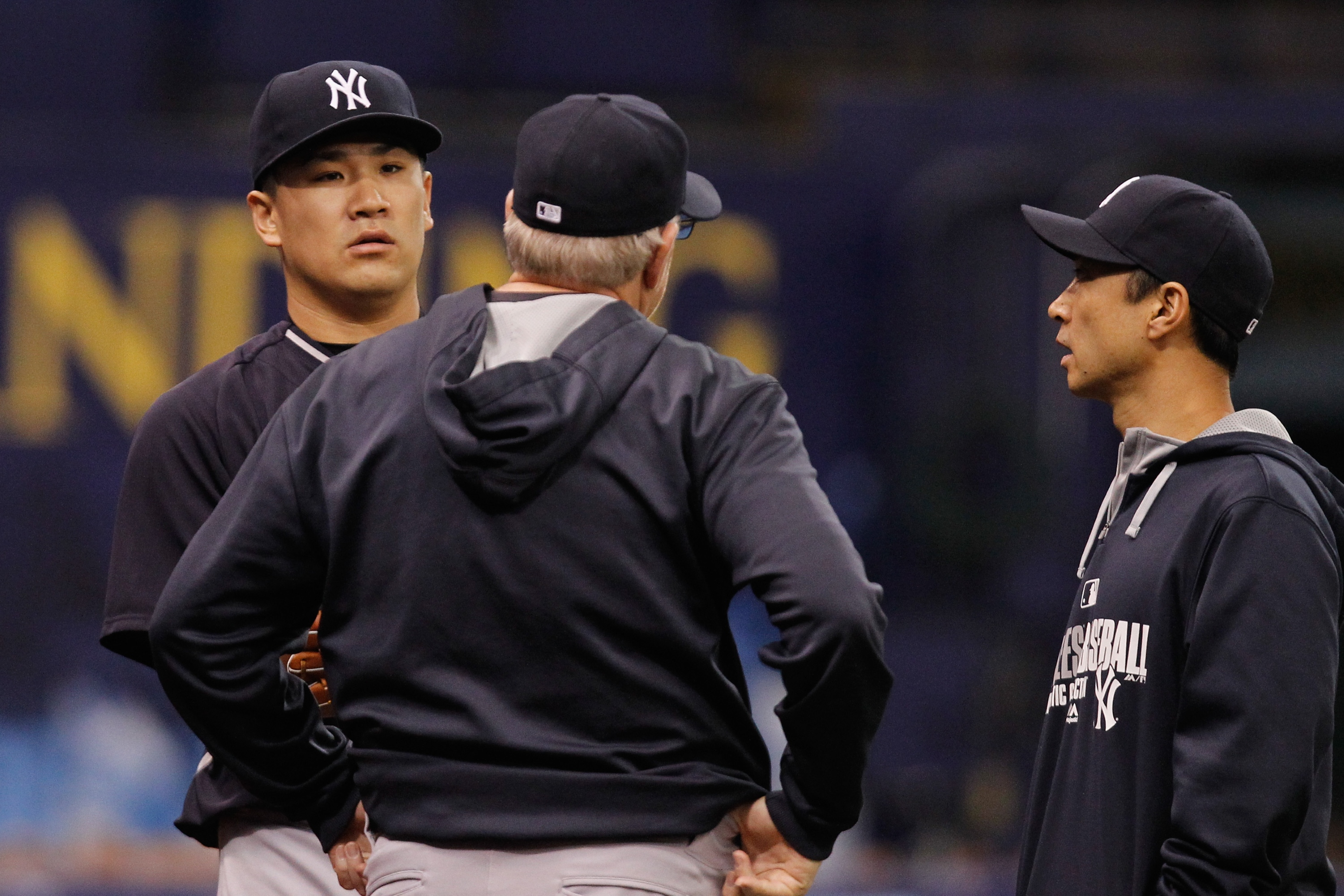 Masahiro Tanaka 'heading in right direction' after good bullpen…