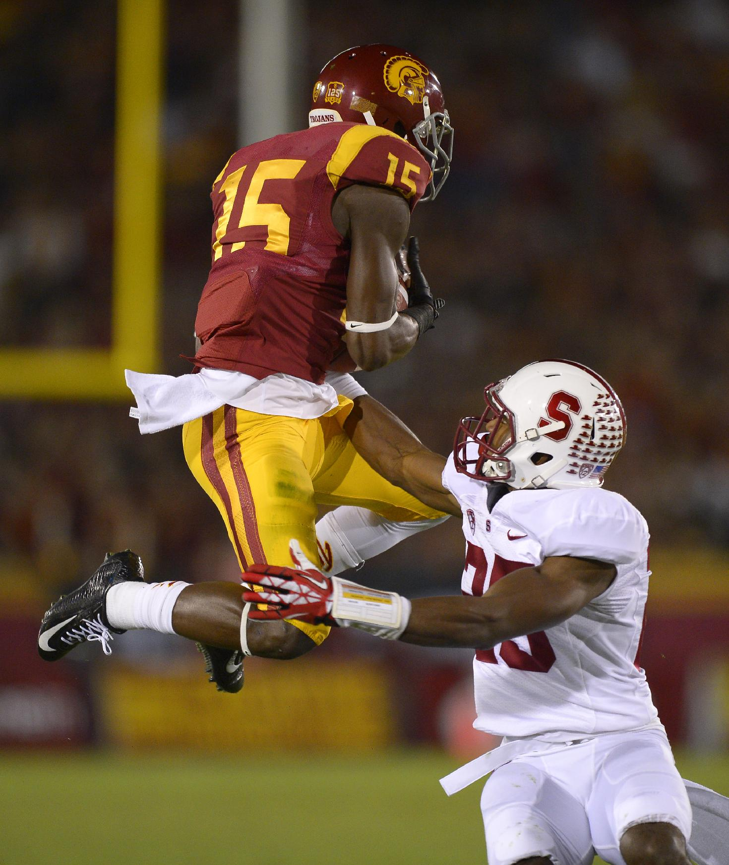 Agholor is one smooth operator. (AP)