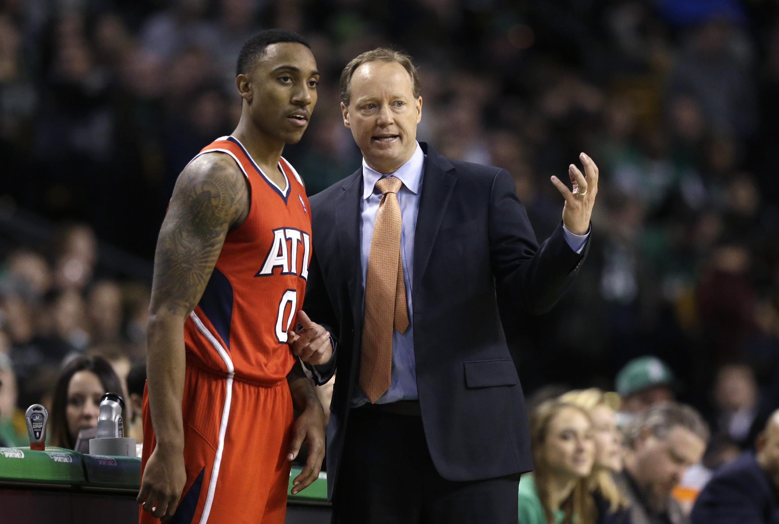 Hawks' Jeff Teague couldn't hear for a while due to 'a consider…