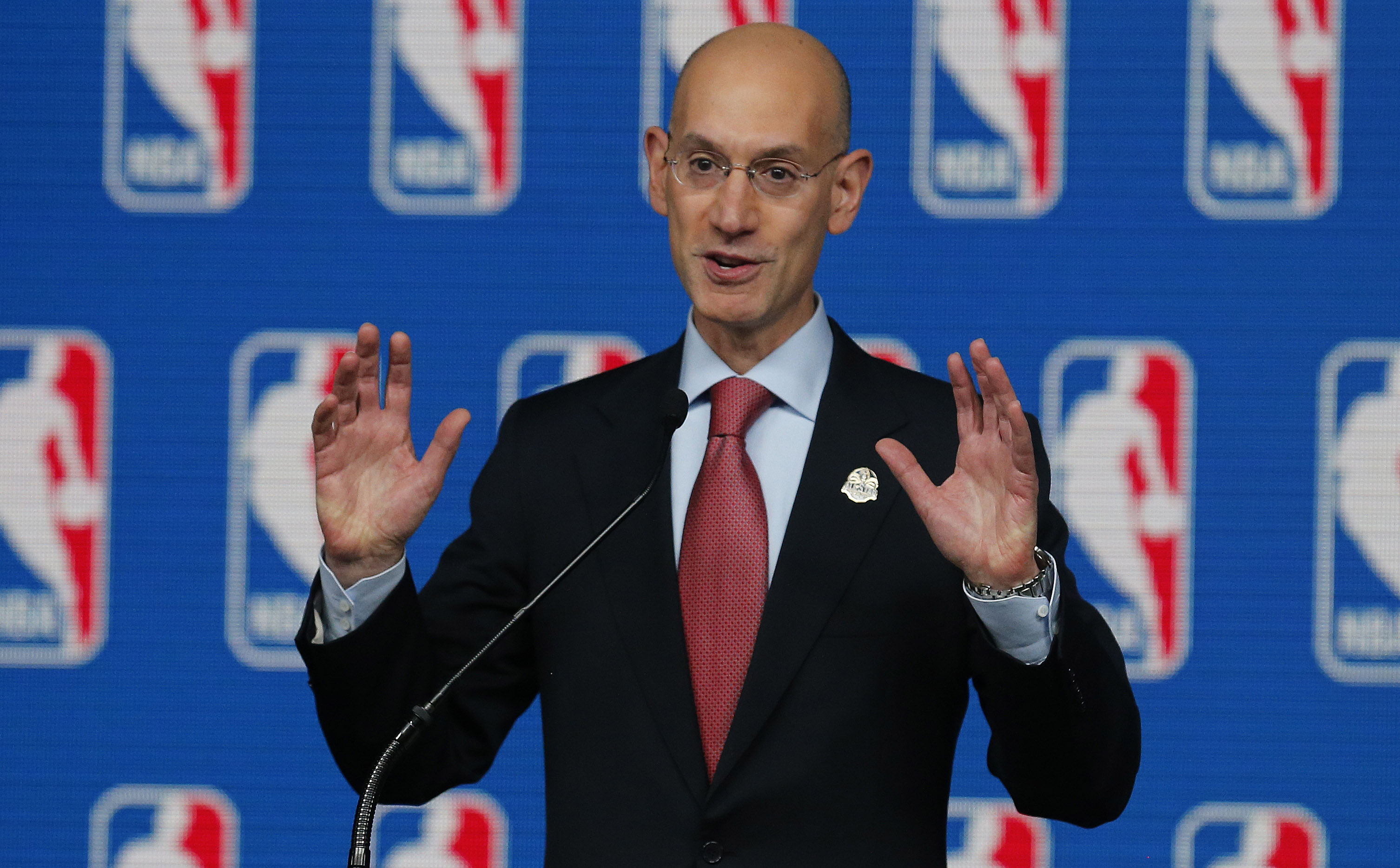 Adam Silver weighs in on NBA draft age limit, tanking, potentia…