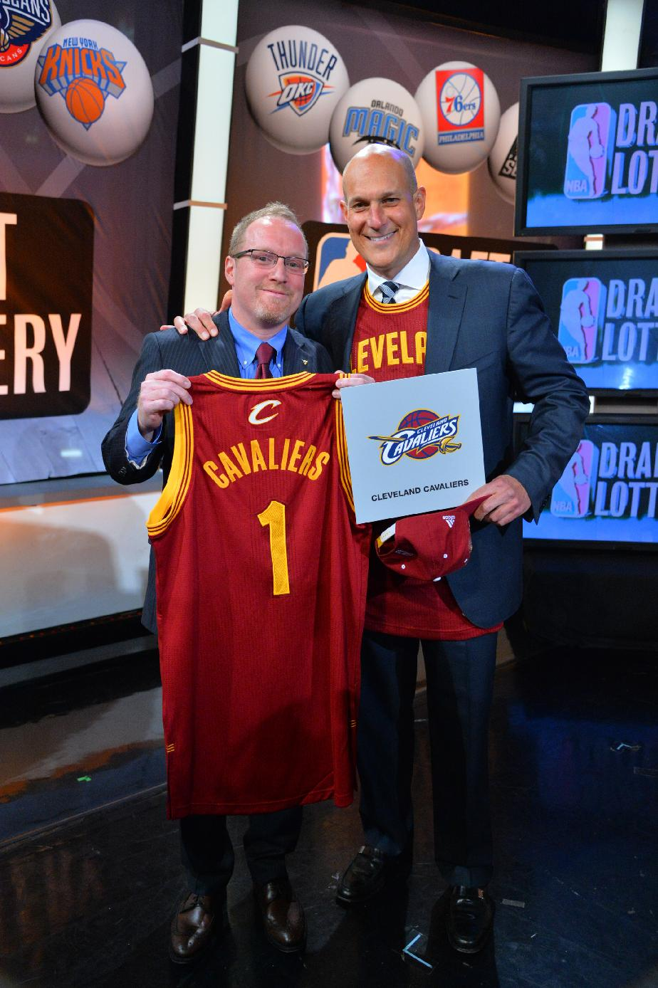 Cleveland Cavaliers win 2014 NBA draft lottery, will make No. 1…