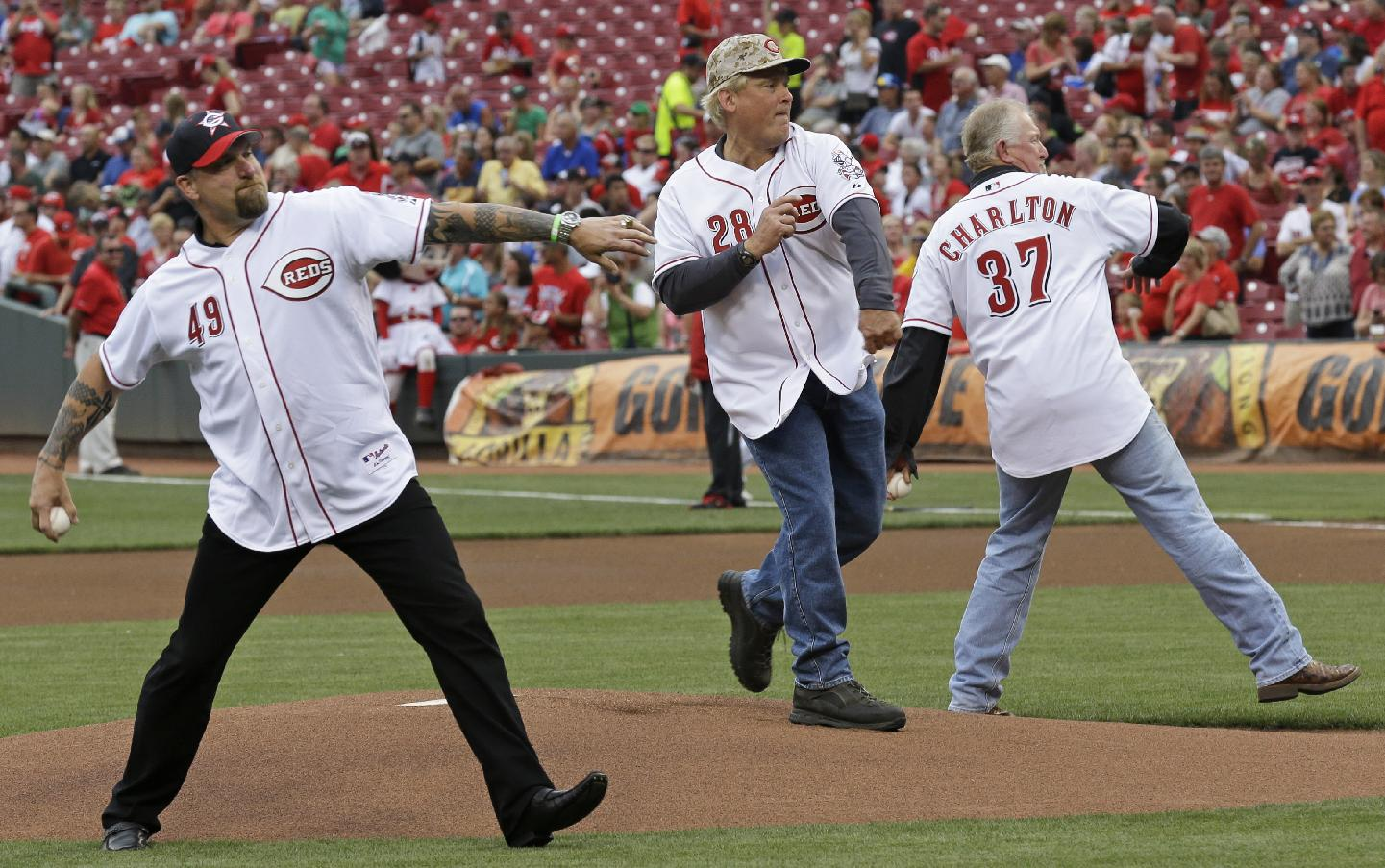MLB Network to feature Reds' 'Nasty Boys' from 1990