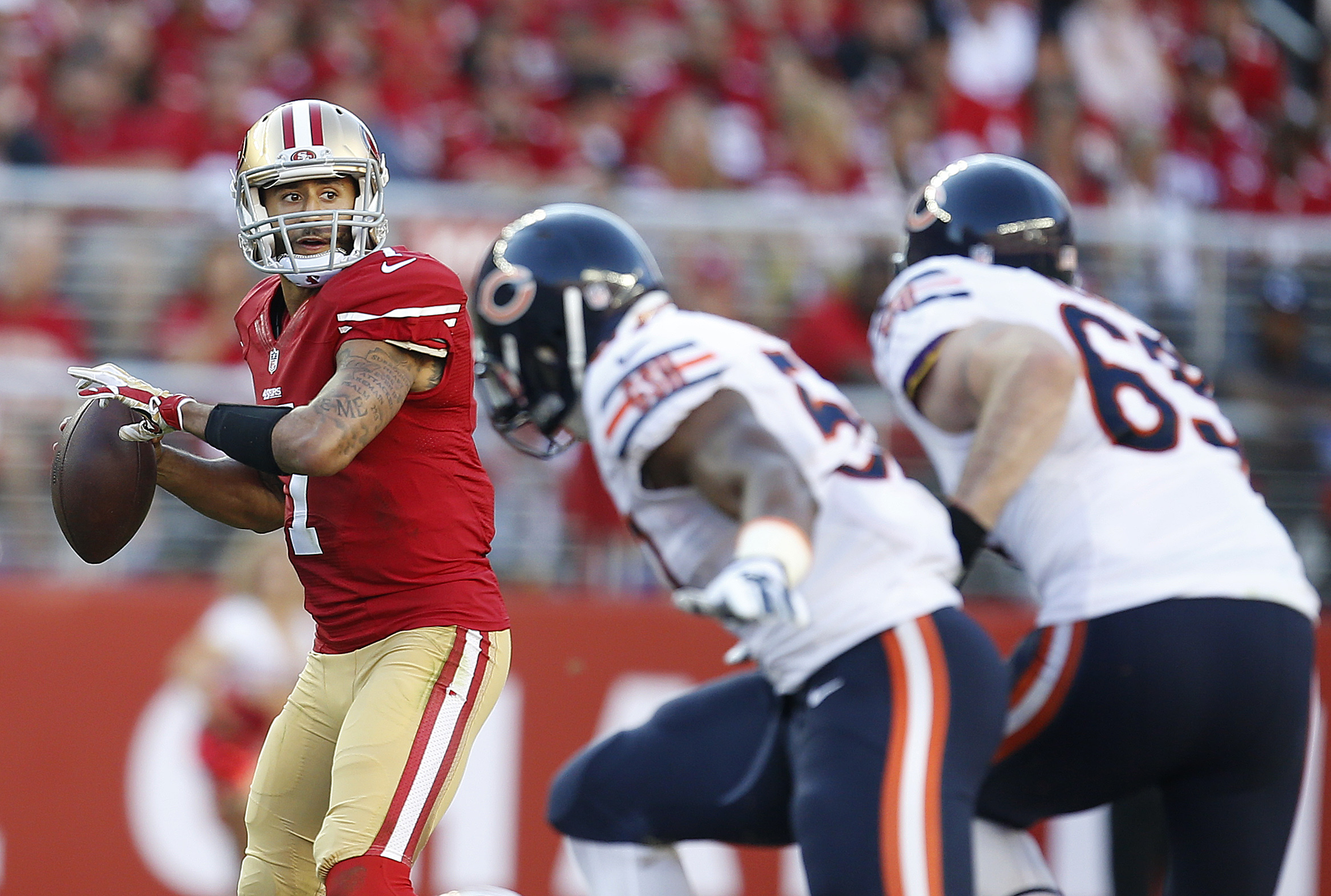 Referees reveal word that Kaepernick used in inappropriate-lang…