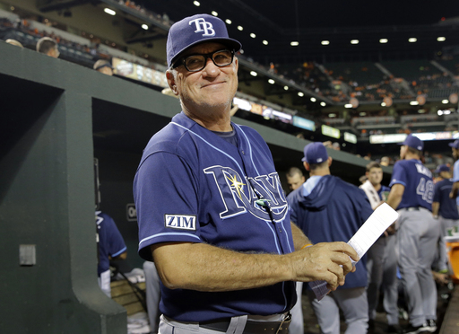 Joe Maddon would have reportedly stayed in Tampa Bay and accepted less money than he's getting in Chicago. (AP)