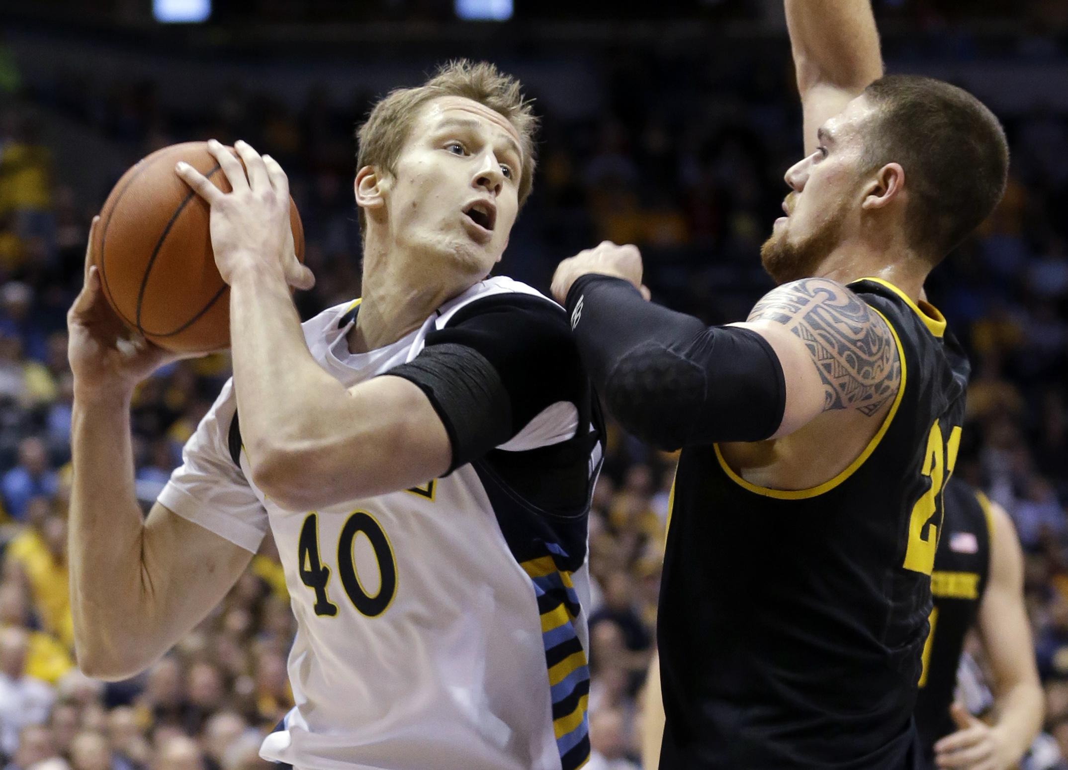 Luke Fischer (AP Photo/Morry Gash)