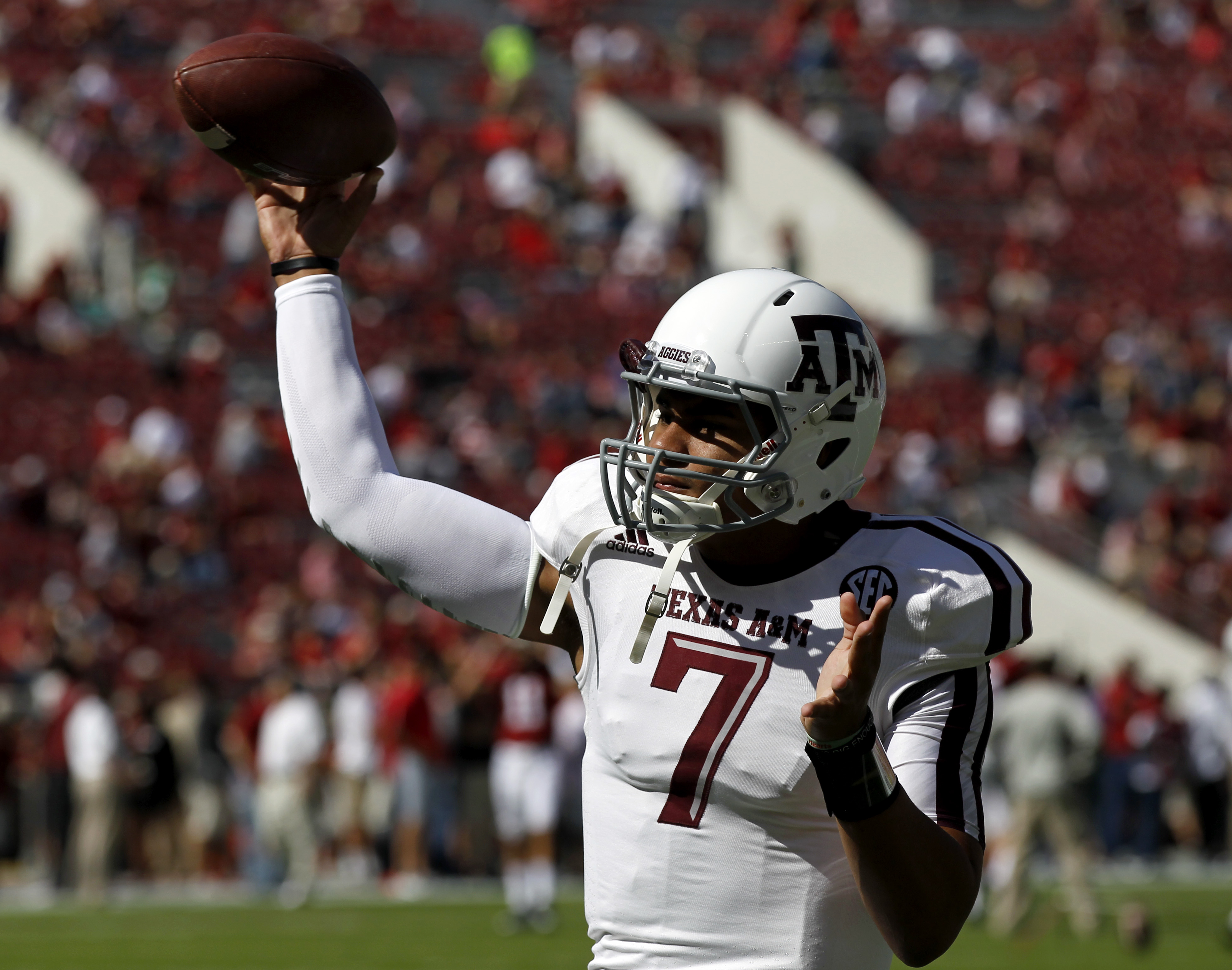 Kenny Hill could resurrect his career at TCU. (AP Photo/Butch Dill)