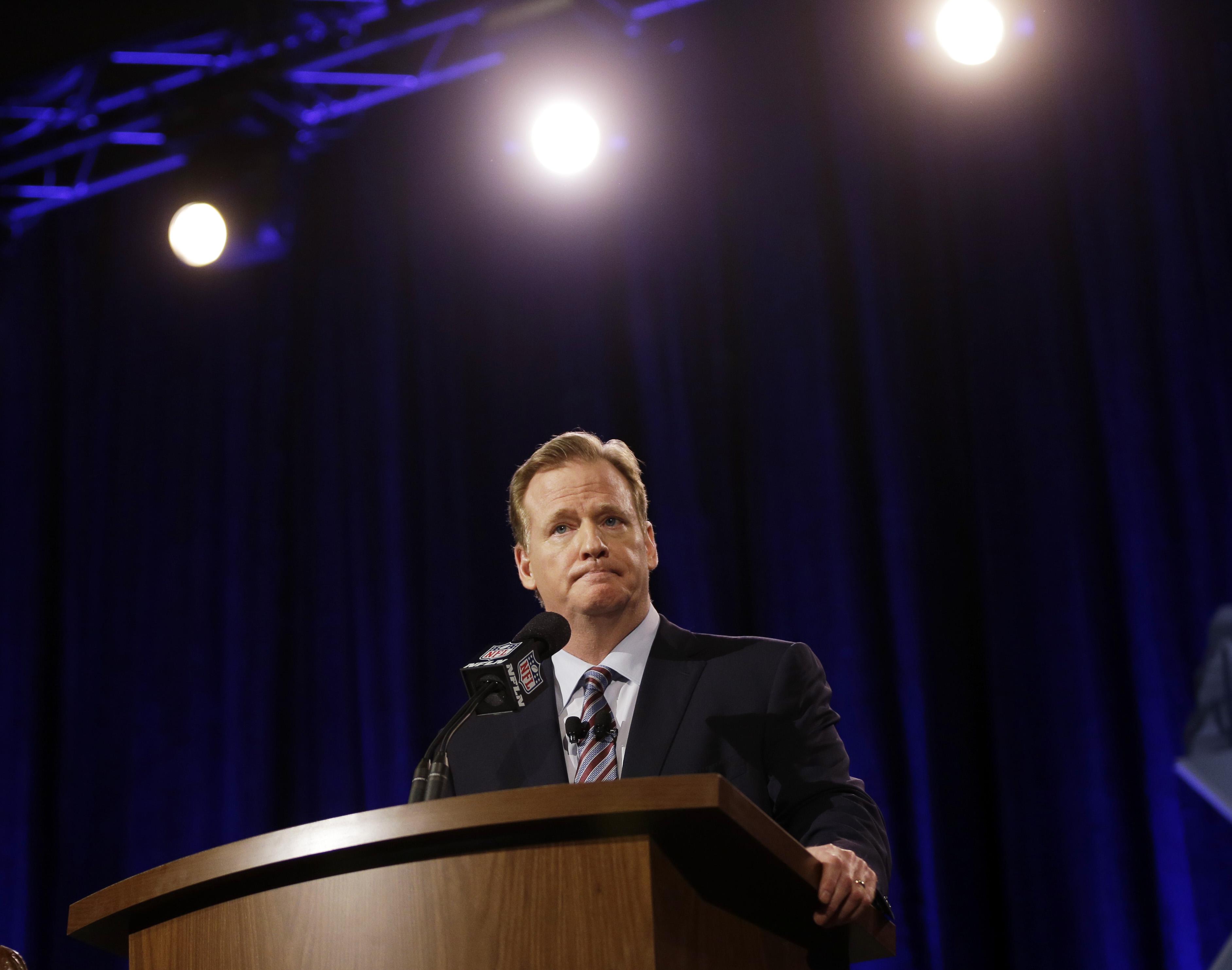 NFL commissioner Roger Goodell (AP)