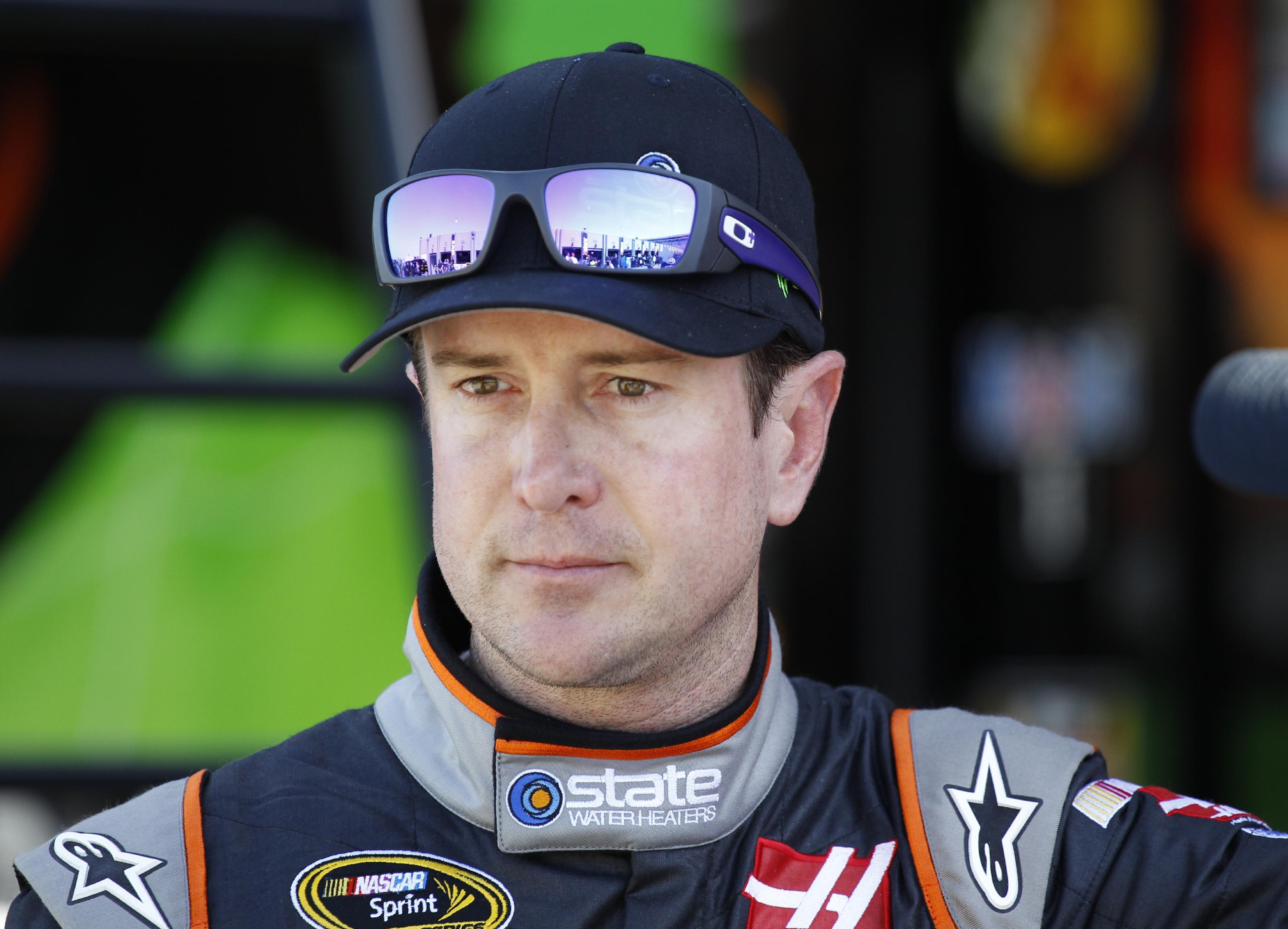 Kurt Busch missed three races before being reinstated on Wednesday. (AP)