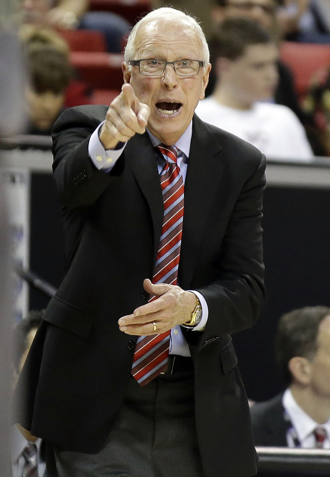 San Diego State head coach Steve Fisher (AP)