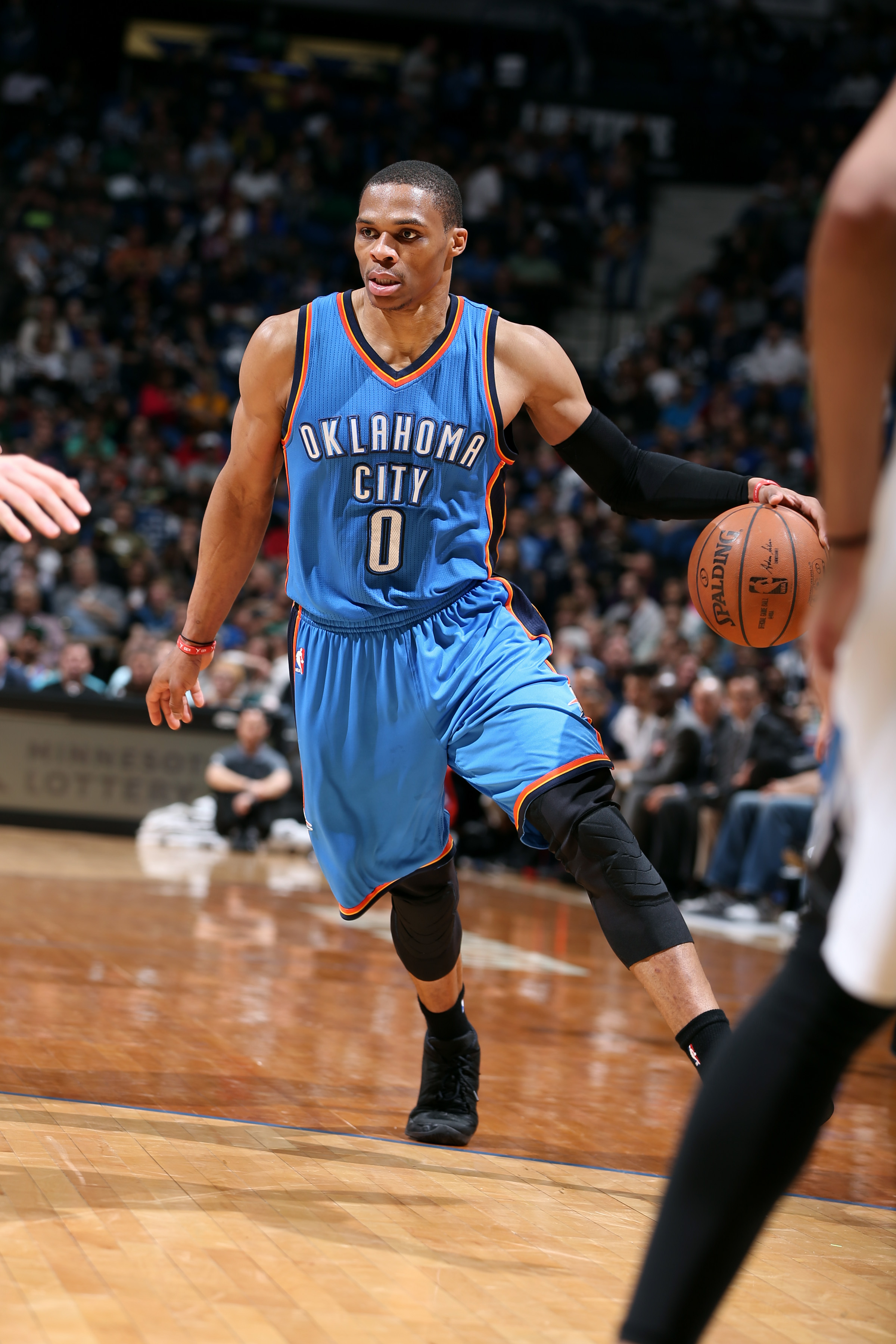 Russell Westbrook on what scoring title means after Thunder mis…
