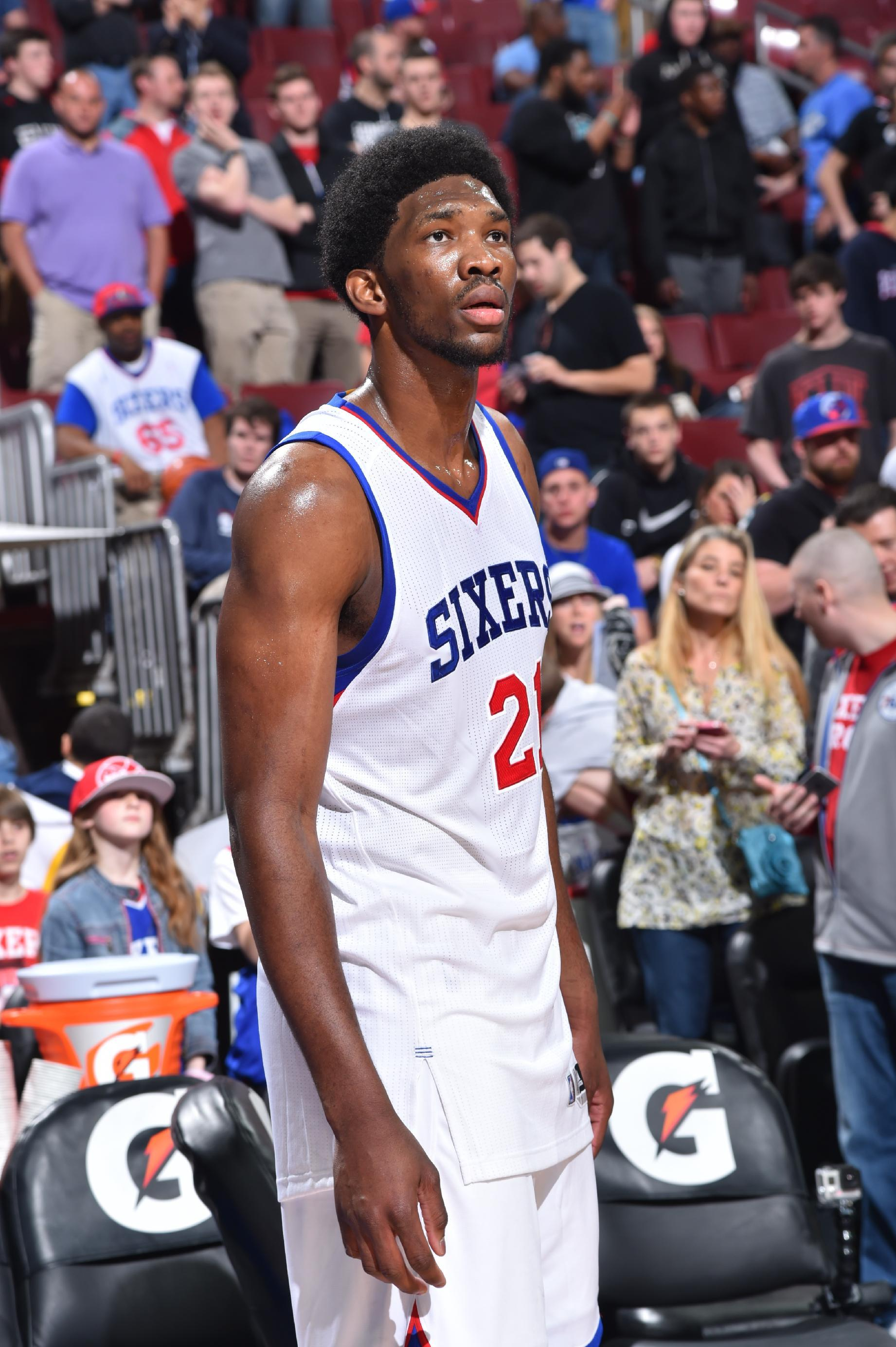 Embiid says he'll be ready next season in more great Sixers new…