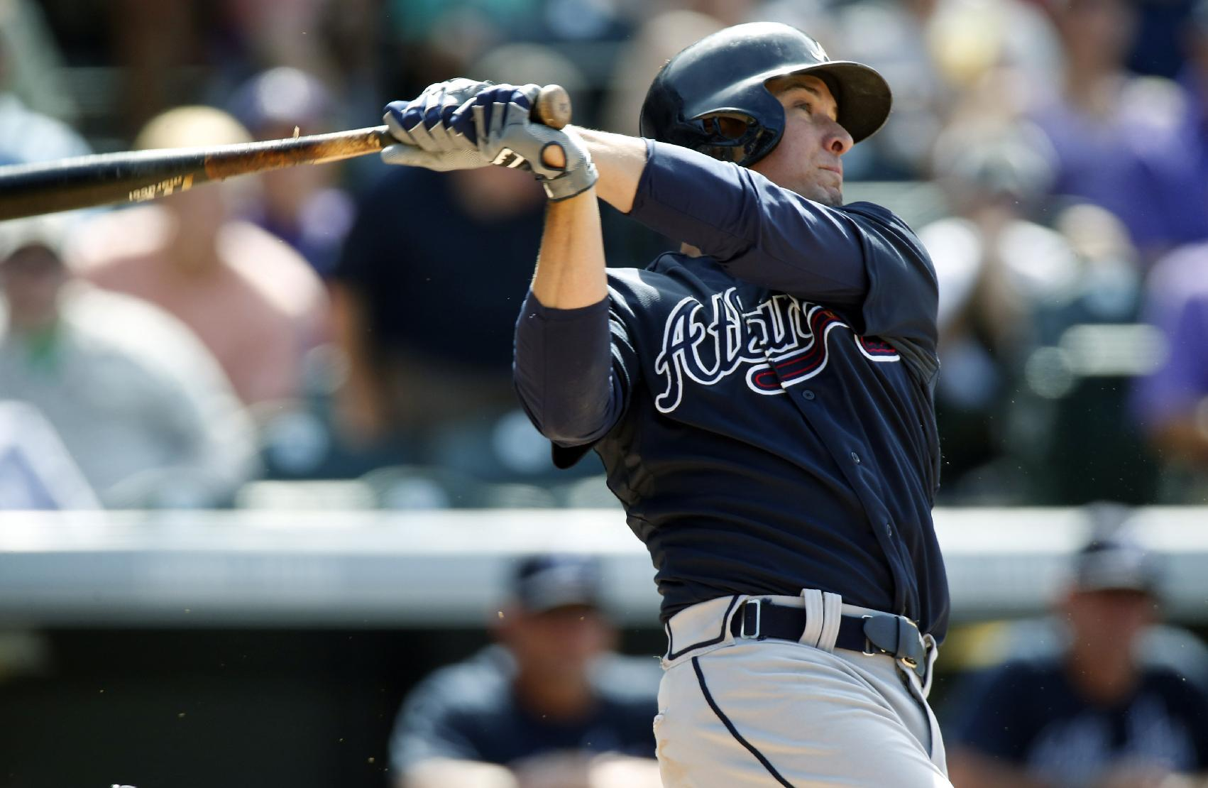 Kelly Johnson's young son pushed for his return to Braves