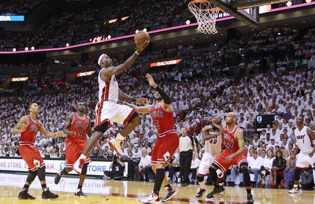 NBA/Playoffs: Les Chicago Bulls �crasent le Miami Heat