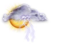 Orages dispers�s