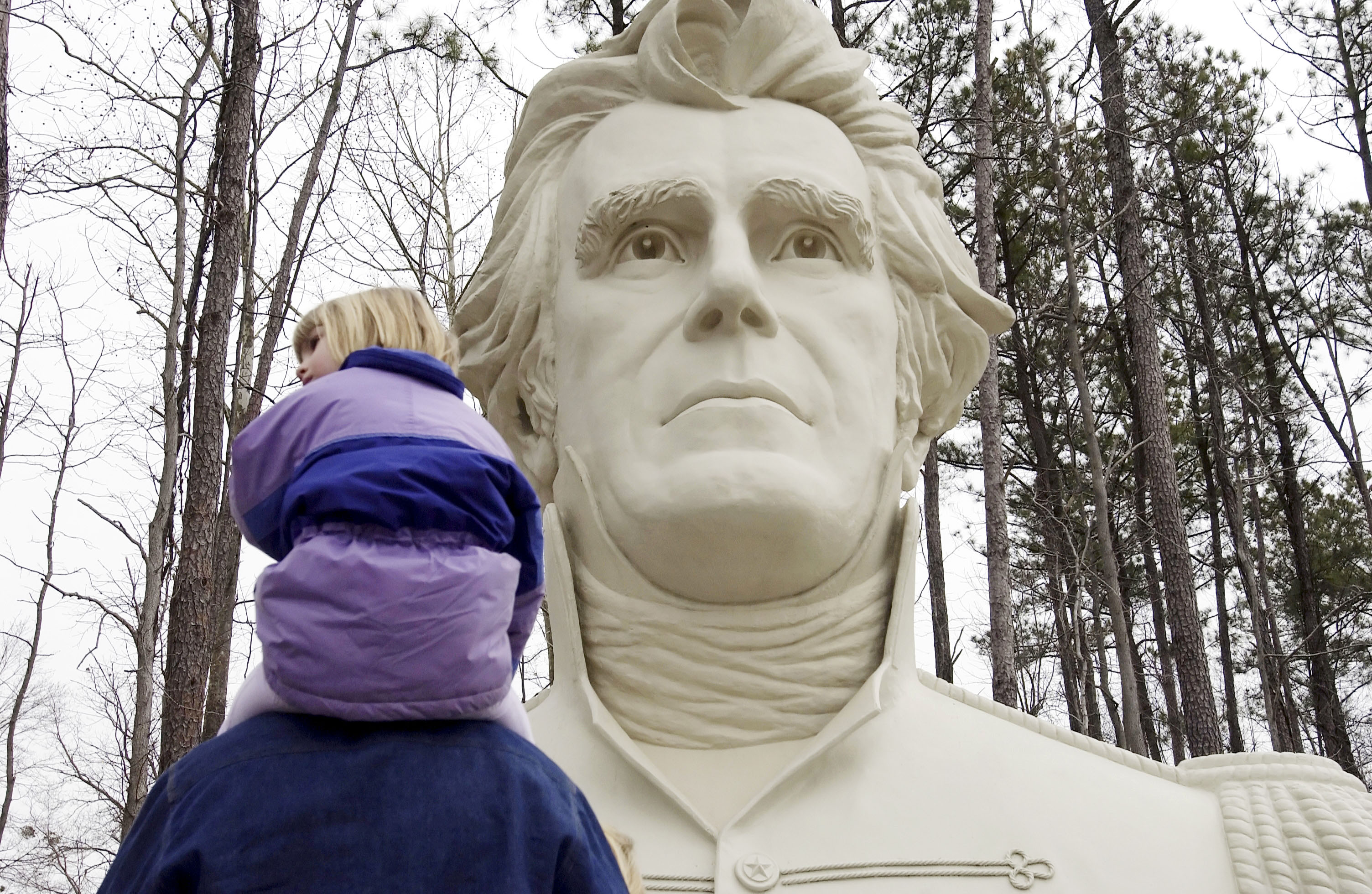 The bust of President Andrew Jackson (Gary Knapp/Getty Images)