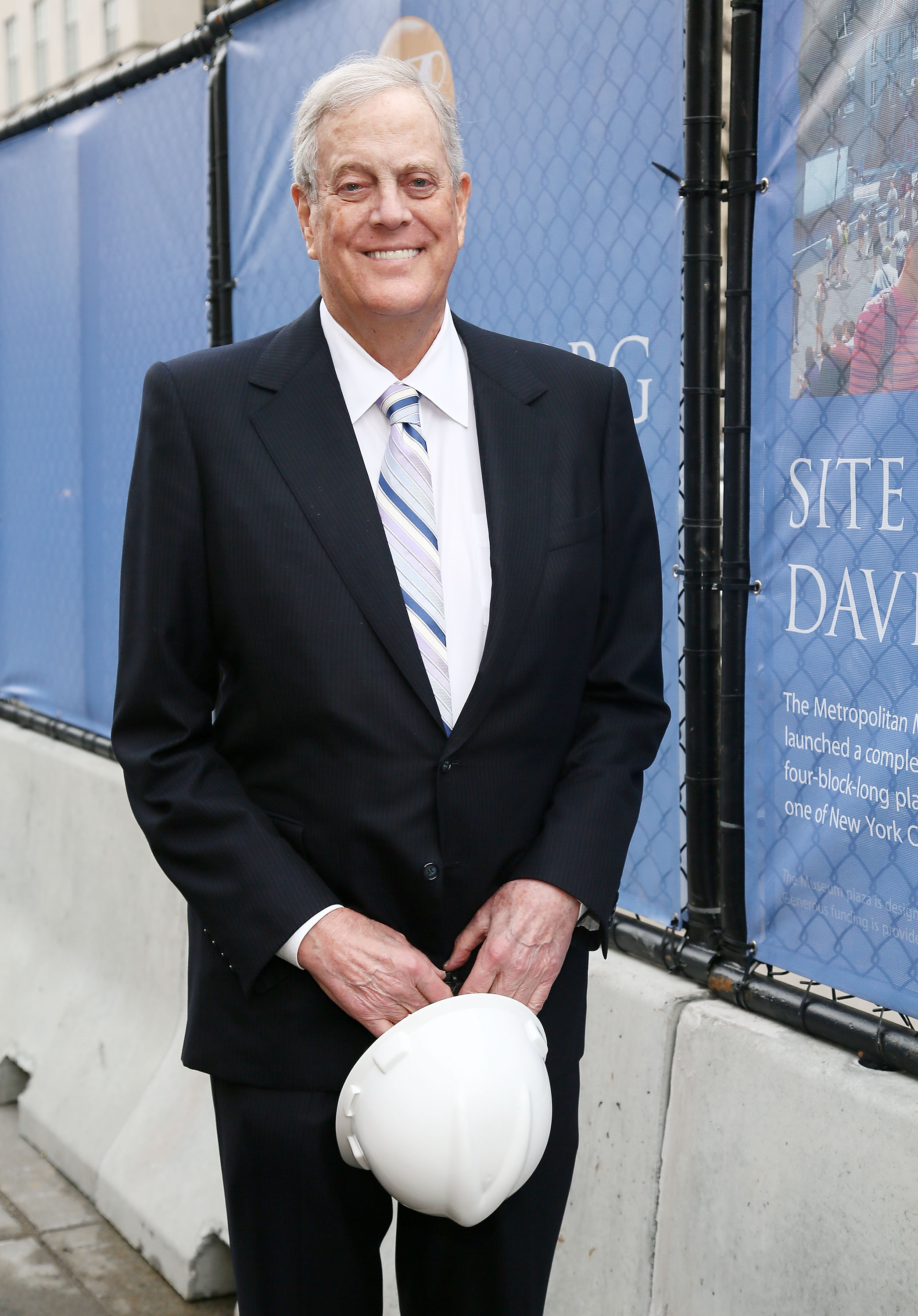 David H. Koch (Astrid Stawiarz/Getty Images)