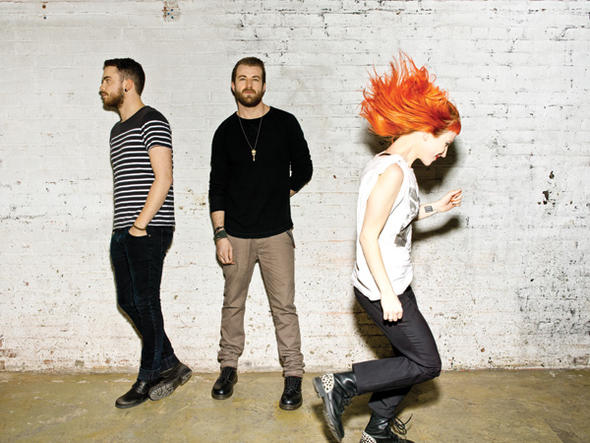 Members of Paramore (courtesy of Fueled by Ramen)