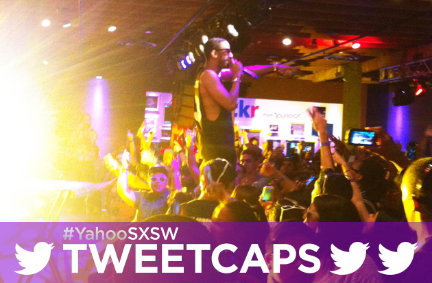 Ryan Leslie performing at Yahoo's SXSW '13 HQ