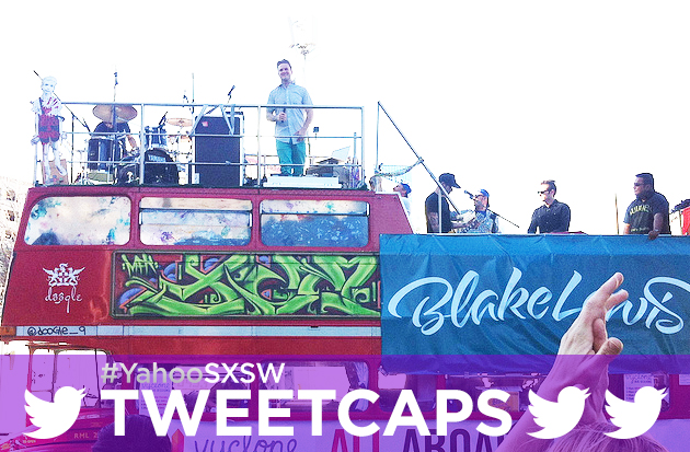 Blake Lewis double-deckering up at SXSW