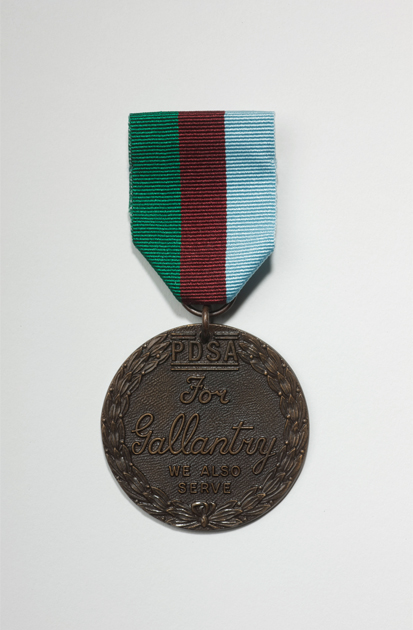 A Dickin Medal - only 63 have been awarded