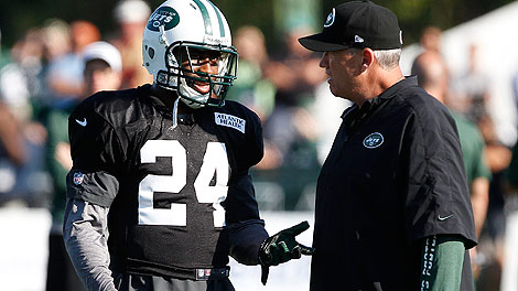 How long will Darrelle Revis and Rex Ryan be together on the New York Jets? (USA Today Sports)