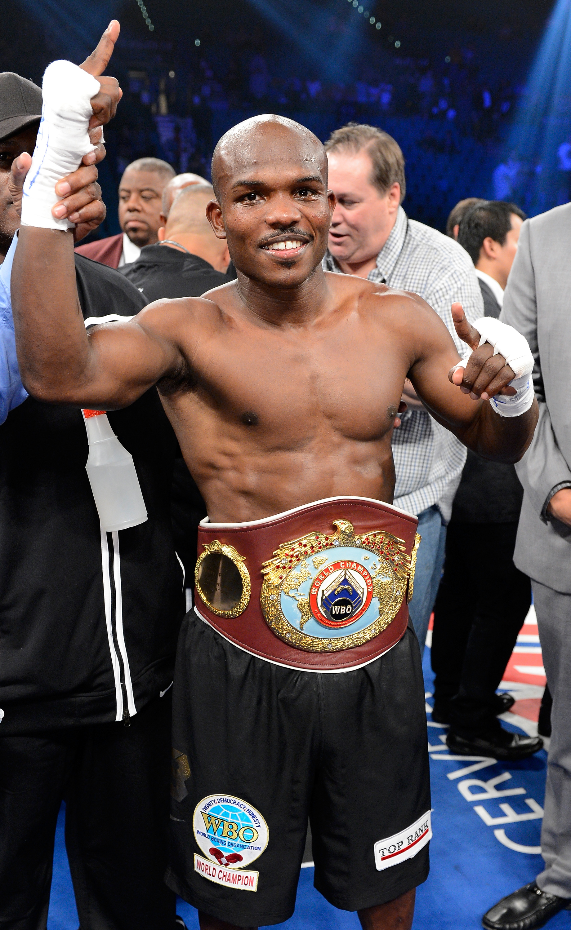 Timothy Bradley may have a win over Manny Pacquiao but his career still lacks traction. (Getty Images)
