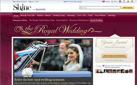 shine royal wedding photo