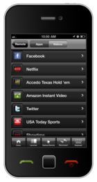 Yahoo! Connected TV Phone App Screenshot 1