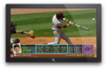 Yahoo! Sports Baseball Game Info TV App: Batter View