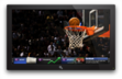 Y! Sports TV App on Dock with Sponsorship Ad