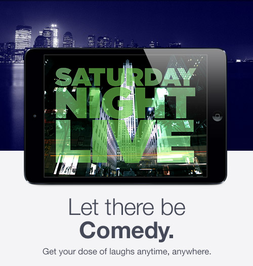 Let there be Comedy. Get your dose of laughs anytime, anywhere.