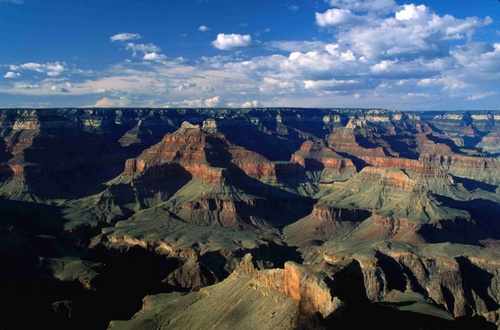 The canyon at sunset, from Pima Point - Grand Canyon National Park, Arizona