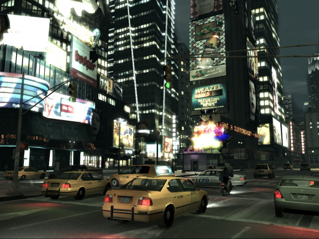 GTA IV Screens vs Research