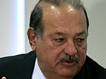 Mexican businessman Carlos Slim speaks to journalists during a news conference in Mexico City. (AP Photo/Eduardo Verdugo)