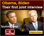 View the 60 MINUTES interview with Barack Obama and Joe Biden