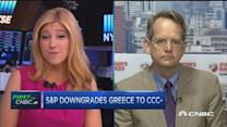 S&P downgrades Greece to CCC-