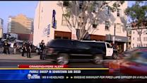 Parole sweep in downtown San Diego