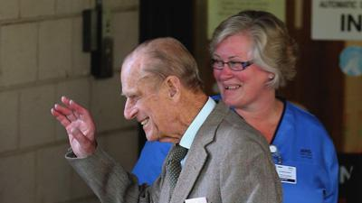 Prince Philip out of hospital after treatment